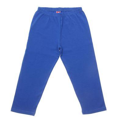 Бриджи для девочки, рост 140 см (72), цвет синий