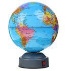 Глобус сувенирный, вращающийся, d=14 см, английский язык