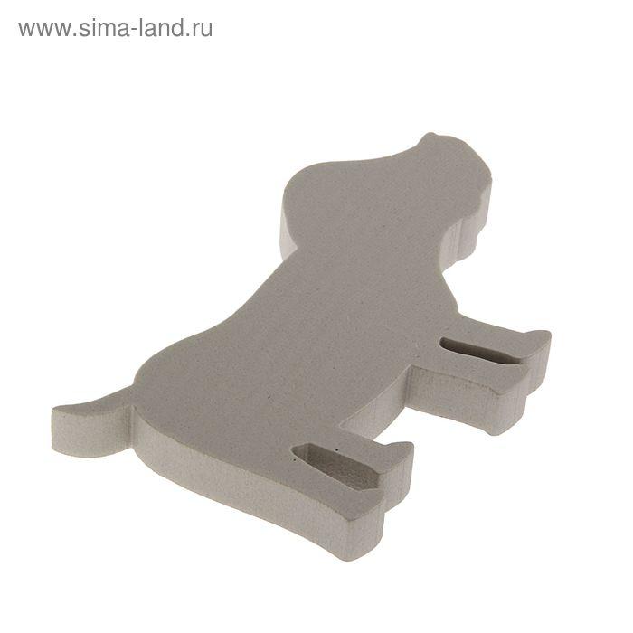 """Форма из пенопласта """"Собака большая"""", 18 х 2 см"""