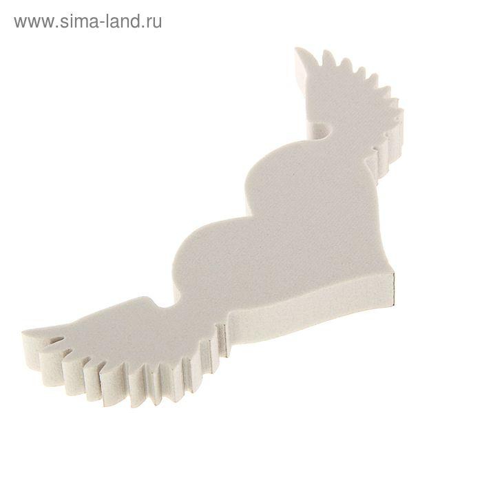 """Форма из пенопласта """"Сердчко с крыльями"""", 15 х 2 см"""