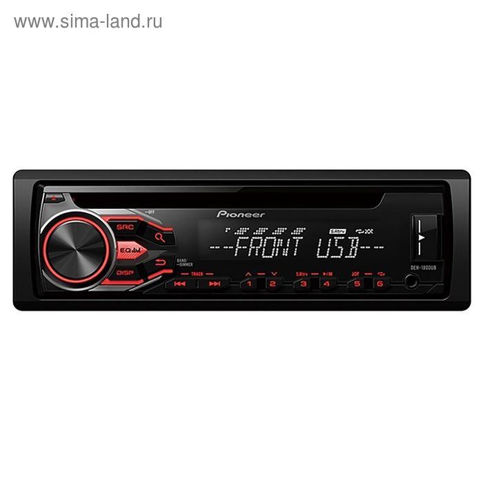 Автомагнитола CD Pioneer DEH-1800UB 1DIN 4x50Вт