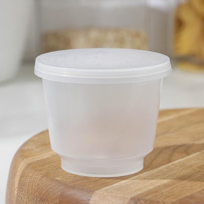 Контейнер пищевой 250 мл с герметичной крышкой