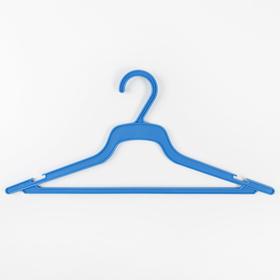 Вешалка-плечики размер 48-50 для лёгкого платья, цвет МИКС Ош