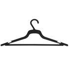 Вешалка-плечики размер 48-50 для лёгкого платья, цвет чёрный