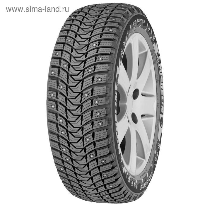 Зимняя шипованная шина Michelin X-Ice North 3 XL 195/65 R15 95T