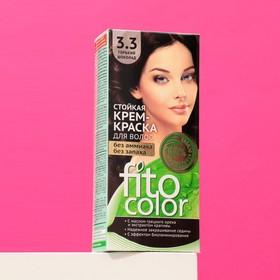 Стойкая крем-краска для волос Fitocolor, тон горький шоколад, 115 мл Ош
