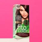 Стойкая крем-краска для волос Fitocolor, тон каштан, 115 мл