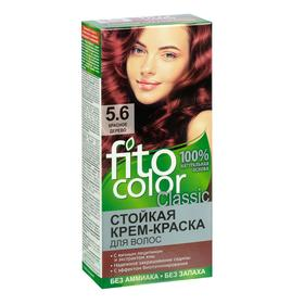 Стойкая крем-краска для волос Fitocolor, тон красное дерево, 115 мл Ош