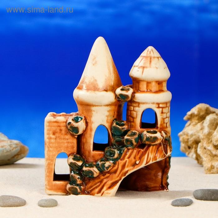 """Декорации для аквариума """"Замок и башни"""""""