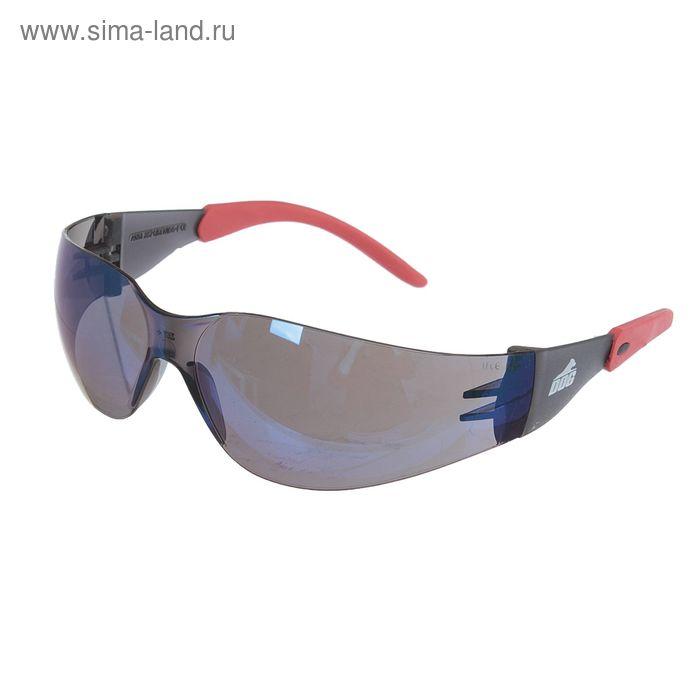 Очки защитные открытые DOG Racing зеркальные