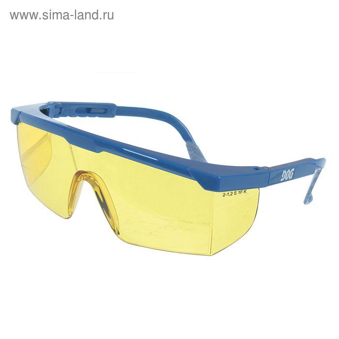 Очки защитные открытые DOG Spec янтарные