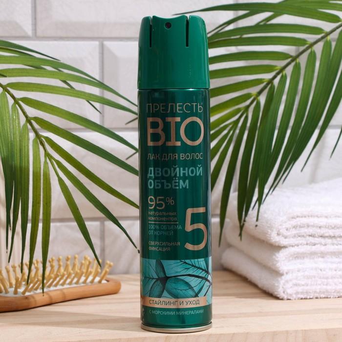 Лак для волос Прелесть Bio Объем и сила, 210 мл