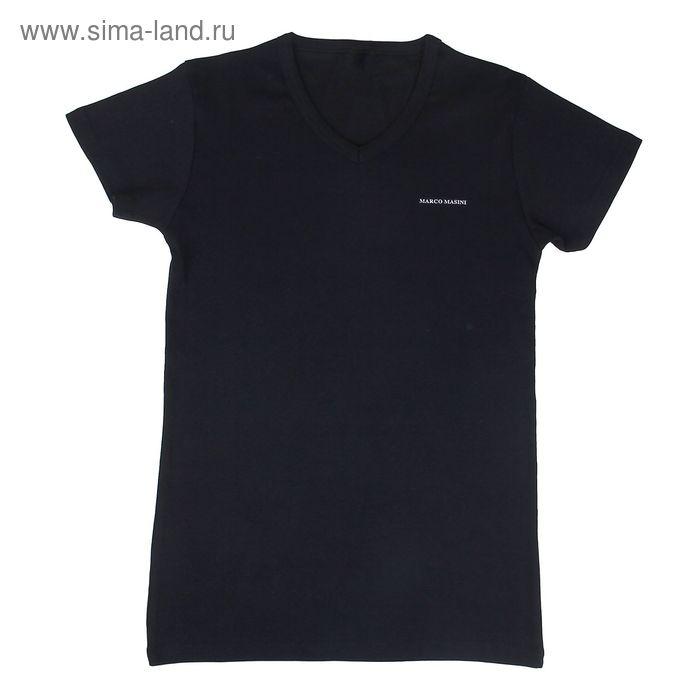 Футболка мужская, цвет чёрный, размер S (арт. 300)