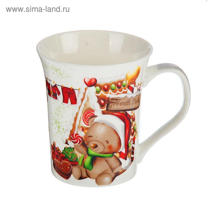 """Кружка """"Новогоднее настроение"""" 320 мл, МИКС"""