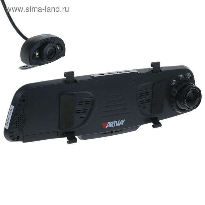 """Видеорегистратор Artway AV-620, две камеры, 4.3"""" TFT, обзор 120/170°, 1920х1080 FHD"""