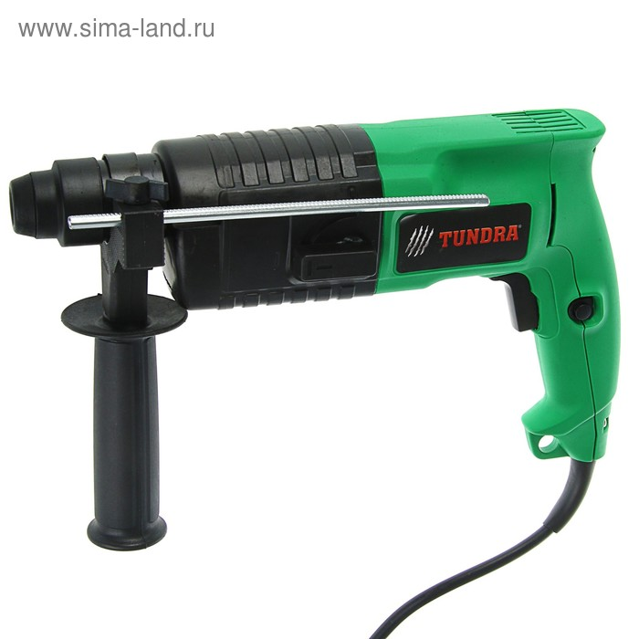 Перфоратор TUNDRA basic P-001-600, 600 Вт, 800 об/мин, 3900 уд/мин, 1.5 Дж, 2 режима