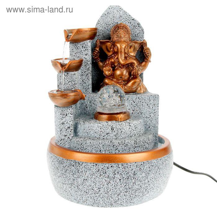 """Фонтан настольный """"Ганеша"""" под камень 32х21х18 см"""