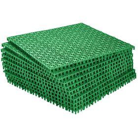 Модульное пластиковое покрытие 33 х 33 х 0,9 см, зеленый