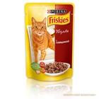 Влажный корм FRISKIES для кошек, говядина в подливе, пауч, 100 г