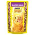 Влажный корм FRISKIES для кошек, ягненок, пауч, 85 г