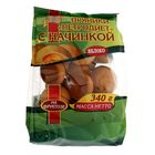 """Пряники """"Петродиет"""" с начинкой на фруктозе """"Яблоко"""", пачка 340 гр"""