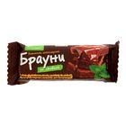 """Батончик Брауни """"Петродиет"""" шоколадный со стевией, 50 г"""