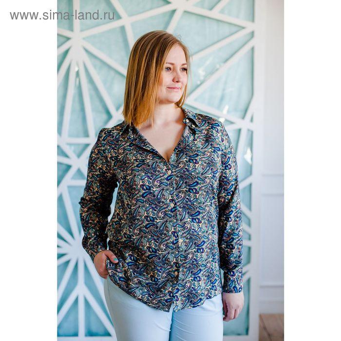 Блузка женская Vera Nicco 1562, размер 48(L), рост 168, цвет бежевый