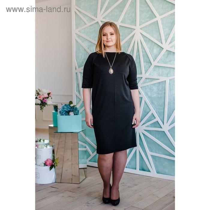 Платье женское Vera Nicco 1673, размер 48(L), рост 168, черный