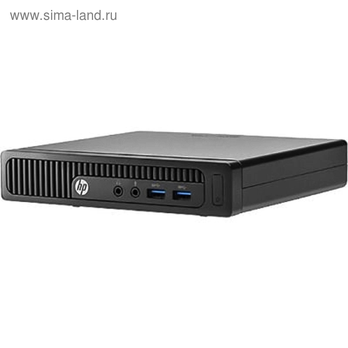 ПК HP 260 G1 DM (T4R61ES), клавиатура, мышь, черный