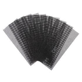 Сетка абразивная TUNDRA basic, корунд, 115 х 280 мм, 10 шт, Р80