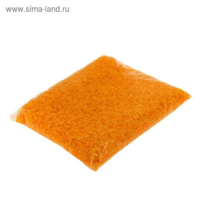 Воск для насыпной свечи 0,3кг оранжевый