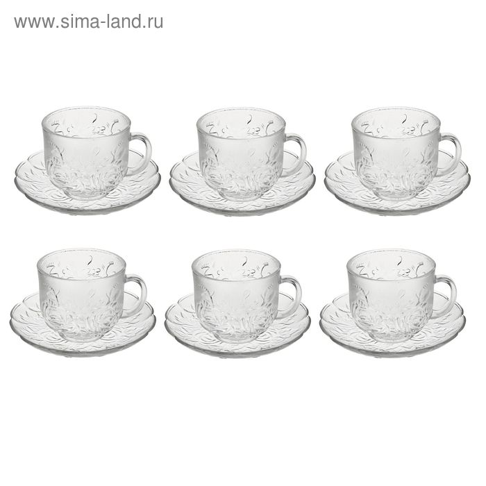 """Сервиз чайный на 6 персон 200 мл """"Венеция"""""""