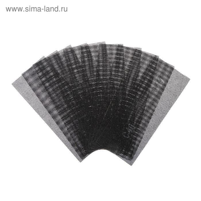 Сетка абразивная TUNDRA basic, корунд, 115 х 280 мм, 10 шт, Р40