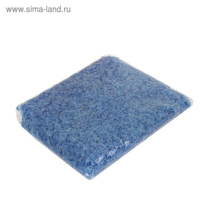 Воск для насыпной свечи 0,3кг синий