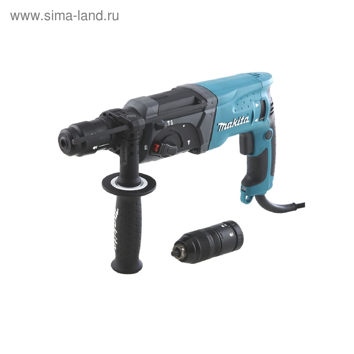 Перфоратор Makita HR2470FT патрон:SDS-plus уд.:2.7Дж 780Вт (кейс в комплекте)