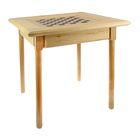 Шахматный стол  с ящиком (72х72х72 см, фигуры дерево, король h=11.5 см) 14690