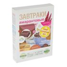 """Завтраки амарантовые """"Di&Di"""" с темным шоколадом, 250 гр"""