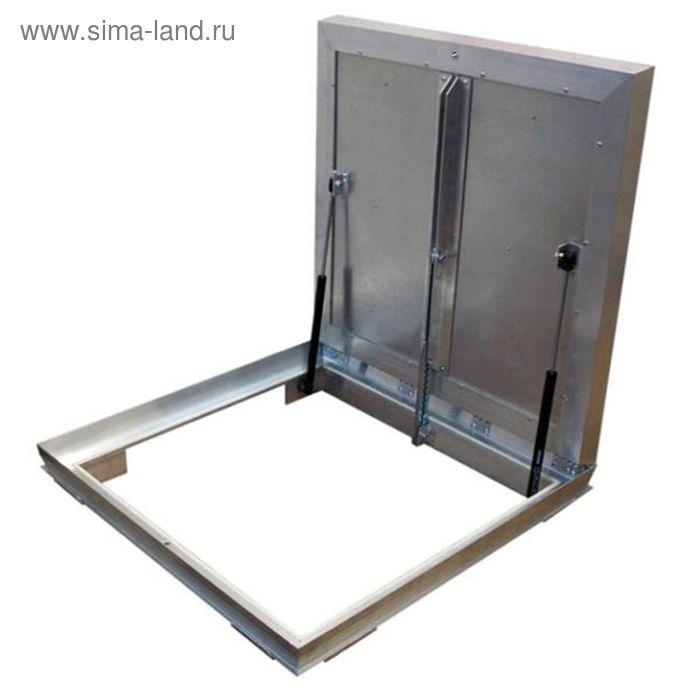 """Люк ревизионный Revizor """"Лифт"""", напольный с амортизатором, 600 х 600 мм"""