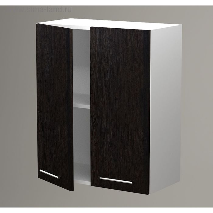 Шкаф навесной 720*600*300 фасад Венге