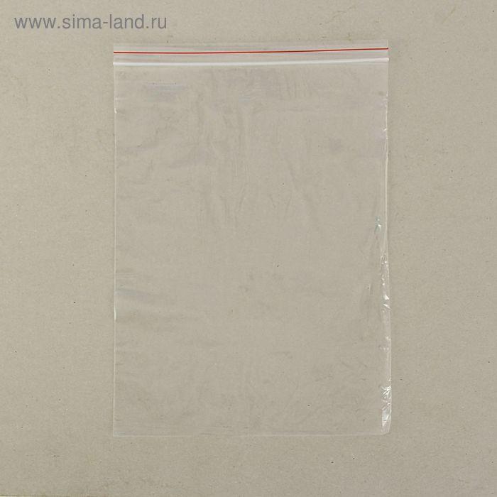 Пакет zip lock, 25 х 35 см
