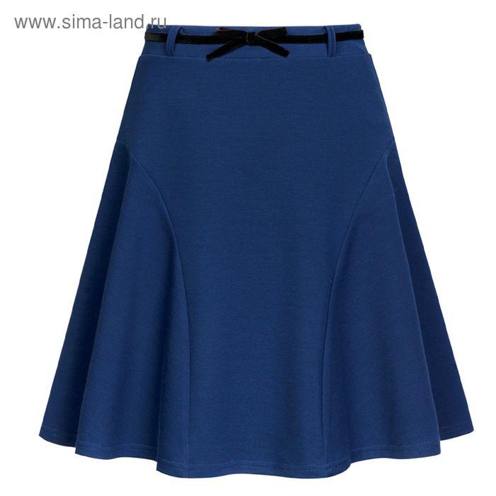 Юбка для девочек, рост 158-164 см, возраст 13 лет, цвет синий (арт. GS8029)