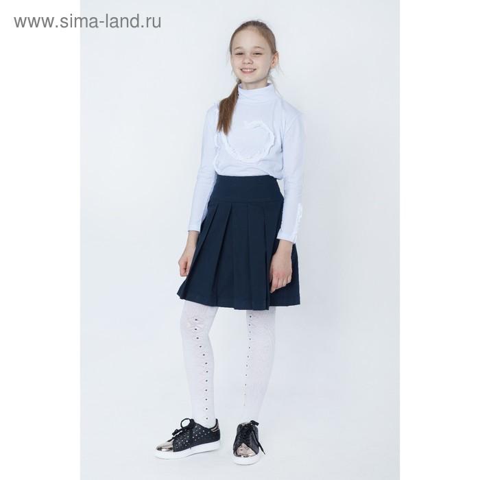 Юбка для девочек, рост 140-146 см, возраст 10 лет, цвет синий (арт. GWS7022)