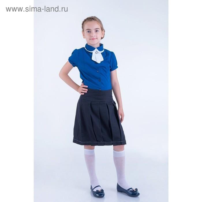 Юбка для девочек, рост 128-134 см, возраст 8 лет, цвет чёрный (арт. GWS7022)