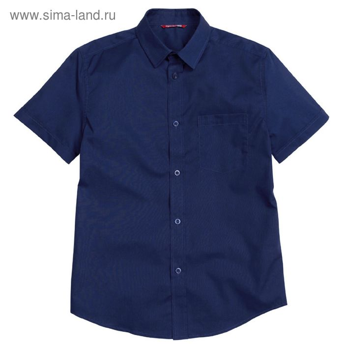 Сорочка для мальчиков, рост 158-164 см, возраст 13 лет, цвет синий (арт. BWTX8013)