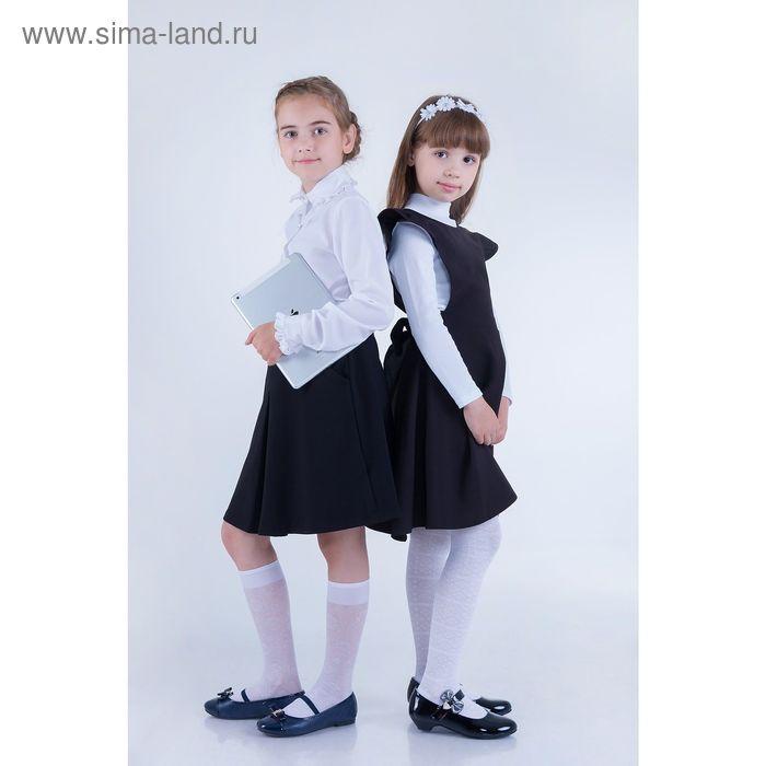 Юбка для девочек, рост 134-140 см, возраст 9 лет, цвет чёрный (арт. GS7030)