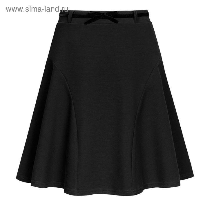 Юбка для девочек, рост 164 см, возраст 14 лет, цвет чёрный (арт. GS8029)