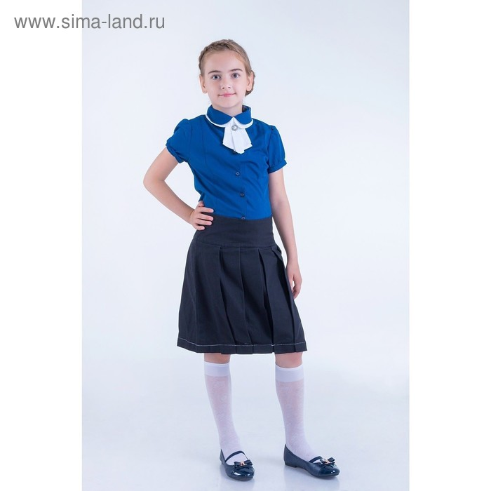 Юбка для девочек, рост 134-140 см, возраст 9 лет, цвет чёрный (арт. GWS7022)