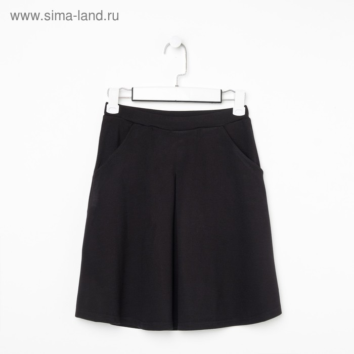 Юбка для девочек, рост 164 см, возраст 14 лет, цвет чёрный (арт. GS8030)