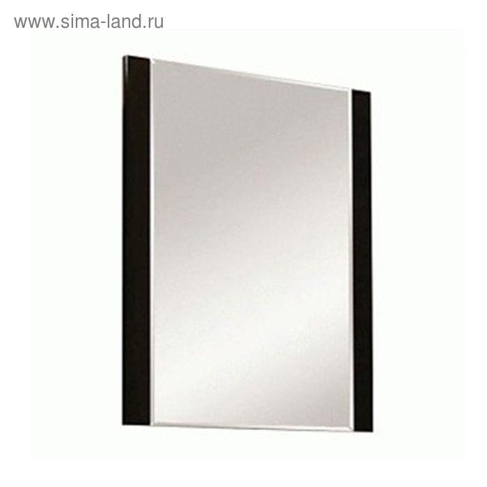 "Зеркало ""Ария 50"", чёрный глянец, Акватон"