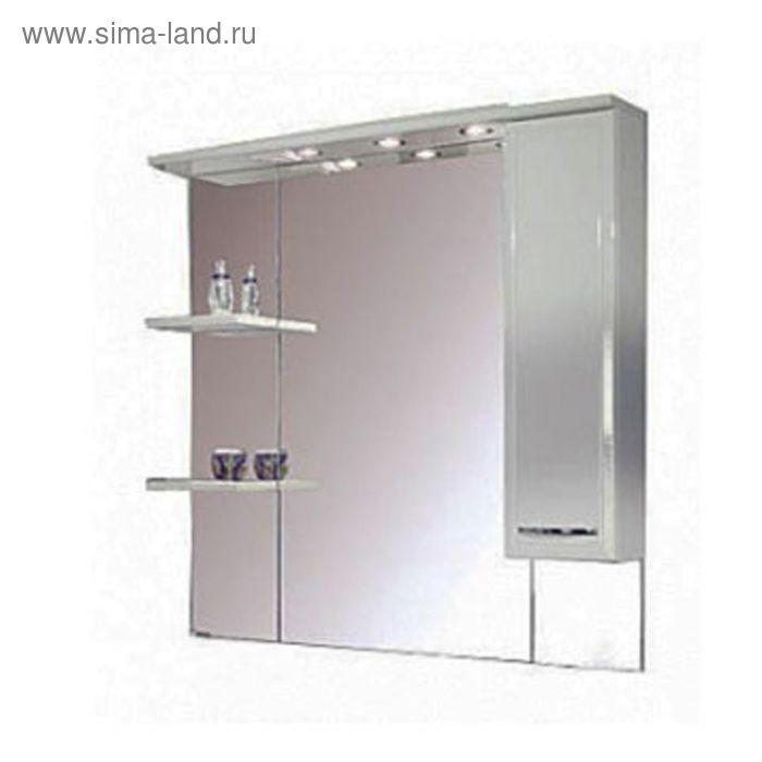 Зеркало Акватон со шкафом Эмили 105 1107*1050*178 правое